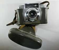 Agfa Silette-LK 35mm film camera with 45mm 1:2.8 Lens and case