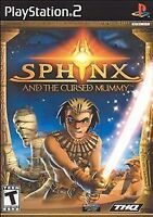 Sphinx and the Cursed Mummy (Sony PlayStation 2, 2003) Fast Shipping !!!!  PS2