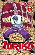manga Toriko Tome 18 Shonen Mitsutoshi Shimabukuro Neuf Kazé Crossover One Piece