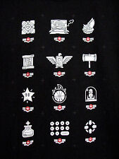 IGN Nintendo Video Games Power UP Icons  Black XL Cotton T Shirt Mario Portal