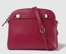 Furla Piper Mini Saffiano Leather Crossbody Raspberry Bag/Purse
