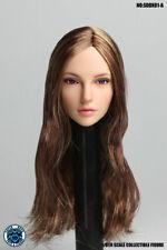 "Super Duck 1:6 Female Head Sculpt Movable Eye SDDX01A For 12"" Female Figure Body"