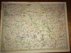 FRANCE : Champagner Karte antike Fein XVII oder XVIII.