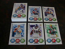 2010 Topps Attax Football---Code Cards---Complete Set---50 Cards