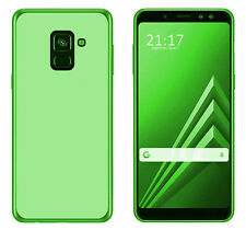 Funda TPU LISA rojo Samsung Galaxy A6 2018 PLUS (6) + PROTECTOR CRISTAL TEMPLADO