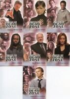 Dead Zone Seasons 1 & 2 Stars of The Dead Zone Chase Card Set 7 Cards