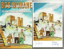 EO DANIEL JUSTENS BOB MORANE HC 84 + EX LIBRIS: LES HÉRITIERS DES PHARAONS NOIRS