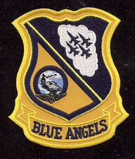 BLUE ANGELS LOGO PATCH US NAVY MARINES F-18 HORNET C-130 HERCULES GIFT AIRSHOW
