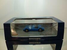 MINICHAMPS 461100 DELAGE D6 GRAN PRIX 1946 #46 - BLUE 1:43 - EXCELLENT IN BOX