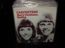 """CARPENTERS merry christmas darling / mr guder ( pop ) 7""""/45 picture sleeve"""