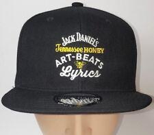 Jack Daniel's Tennessee Honey ART-BEATS Lyrics Snap Back Adjustable Baseball Cap