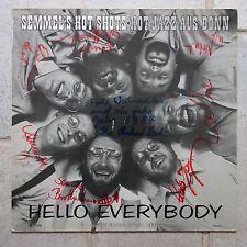 Semmel's Hot Shots – Hello Everybody  LP  Signiert mit Autogrammen  ELZ 1004