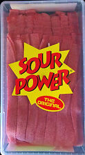 Sour Power Watermelon Candy Belts 150 count Dorval
