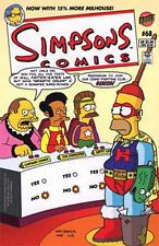 SIMPSONS COMICS #68 NEAR MINT (1st SERIES 1993) ADVENTURE LEGION 247 SPOOF COVER