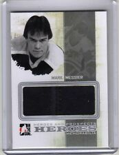 MARK MESSIER 10/11 H&P GAME-USED HERO JERSEY SP /30 Heroes Vancouver Canucks #06