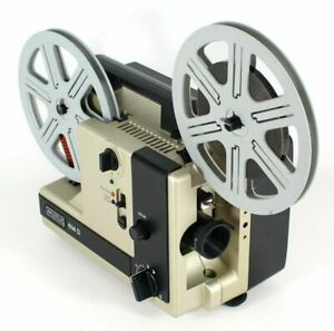 Super 8 und Normal 8 Filmprojektor EUMIG 614 D