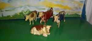 Britains Farm Animals. 4 Cows
