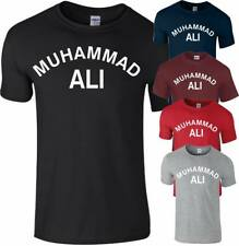 Muhammad Ali Cassius Clay MMA Gym Training Boxing Workout Fitness T Shirt Mens