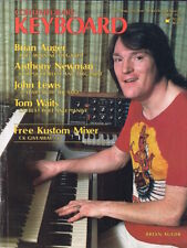 1977 CONTEMPORARY KEYBOARD Magazine: Brian Auger, Cat Synthesizer, Moog