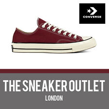New Converse Chuck Taylor 70's Classic Low Top UK Size 10 // Maroon Trainers