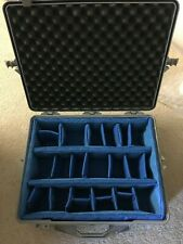 PELICAN 1600 Large Gray Case, with foam & padded divider set included. VG cond.
