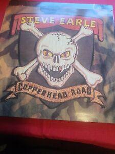 Steve Earle - Copperhead Road - 1988 UK LP Vinyl Album - VG+ MCF 3426