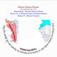 Illinois Pioneer History 1878 - Genealogy CD