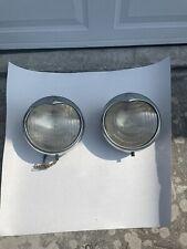 1933 Desoto Headlamps/Headlights Original Mopar (Pair) Flex Beam