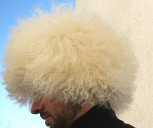 Khabib Nurmagomedov papakha papaha sheepskin fur Caucasus WINTER HAT