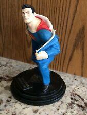 Clark kent Changing Into Superman Statue - Dave  Grossman Creation 2000