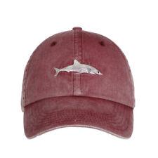 Cartoon Shark Embroidery Wash Cotton Baseball Cap Fashion Snapback Hats Cas N1B6