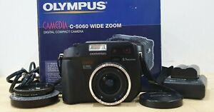 Olympus C-5060 Wide Zoom 5.1MP Camera.