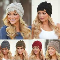 CC Beanie Knitted Original Authentic Knit Hat Thick Slouchy Hat Cap [Authentic]