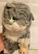 AVANTI BABY ANIMALS APPLAUSE 1985 GRAY TABBY CAT NO. 1026