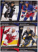 09-10 Upper Deck Ville Leino /100 UD Exclusives Young Guns Rookie 2009