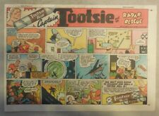 Tootsie Rolls Ad: Captain Tootsie by CC Beck from 1950's Size: 7 x 10 inches