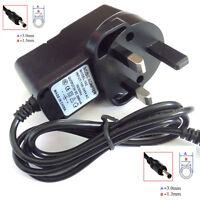 UK 3pin 1000mA Mains Power Supply AC 100 - 240V 50/60Hz to DC 5.0V 3.0mm x 1.3mm