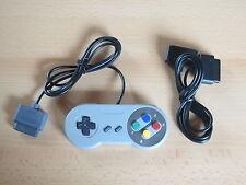 Controller + Verlängerung für Super Nintendo - SNES Joypad Gamepad NEU