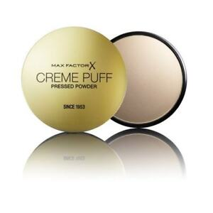 Max Factor Cream Puff Pressed Compact Powder Choose Your Shades New RRP £7.00