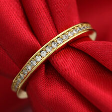 SHINE 9K GF Classic Eternity Ring