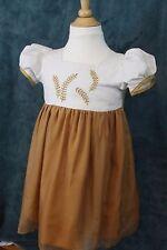 OFC, ORGANIC FASHION CLOTHING Baby Girls 3T Golden Beige Harvest Dress