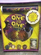 Vtg 90s Sealed Basketball NBA POGS 1-on-1 Milk Cap BATTLE GAME Hakeem Shaquille