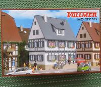 VOLLMER 3715  ~~ Wohnhaus Spur H0 - Eisenbahn Modellbausatz