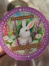 Easter Bunny Plates Set 4