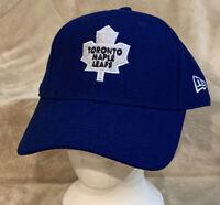 Toronto Maple Leafs New Era Adult OSFA Blue Strapback Hat Cap NHL Canada
