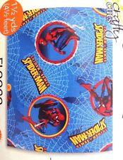 "Marvel Spider-Sense Spider-Man 54"" x 59"" 100% Polyester Blue Fleece NWT"