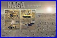 NIUE = ASTRONOMY & SPACE = MARS CONQUEST M/S SC#814 MNH CV$8.50