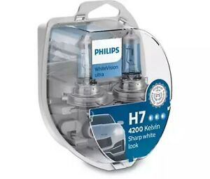 Philips 12972WVUSM - Ultra H7 Globe 12V 55W W/V White Output fits Saab 9-5 1....