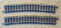 Fleischmann  9131  (Spur N)  2 Stück gebogenes Gleis  R3 - geprüft  Auktion 6