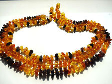 "Genuine Baltic Amber Baby Necklaces 11"", 13"", 14'', 15"""